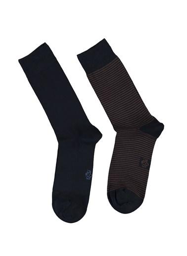 Kiğılı Çorap Kahve